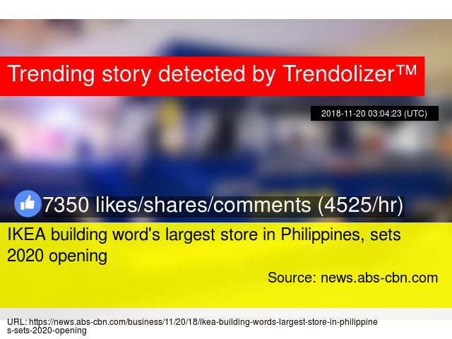 Ikea Building Word39s Largest Store In Philippines Sets 2020 Opening