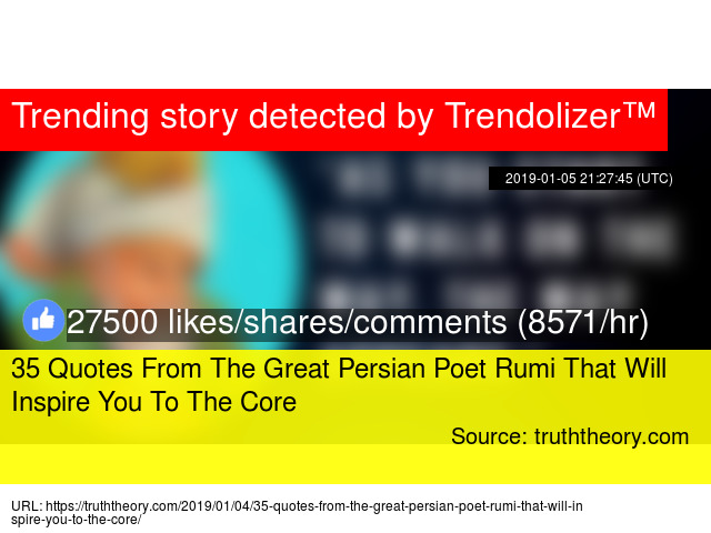 35 Quotes From The Great Persian Poet Rumi That Will Inspire