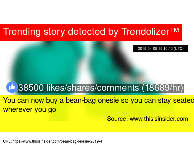 Sensational You Can Now Buy A Bean Bag Onesie So You Can Stay Seated Ibusinesslaw Wood Chair Design Ideas Ibusinesslaworg