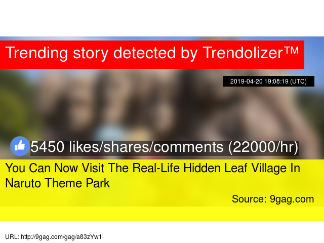 You Can Now Visit The Real-Life Hidden Leaf Village In Naruto Theme Park
