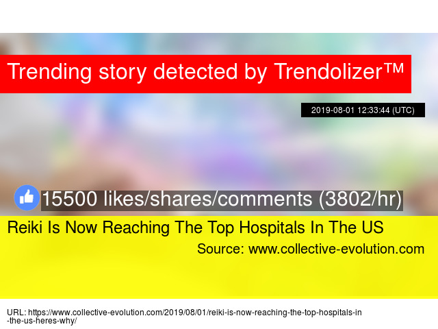 Reiki Is Now Reaching The Top Hospitals In The US