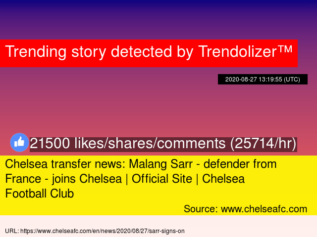 Chelsea Transfer News Malang Sarr Defender From France Joins Chelsea Official Site Chelsea Football Club