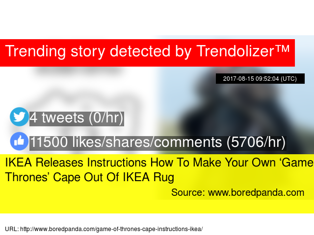 IKEA Releases Instructions How To Make Your Own Game Of - Create your own game of thrones ikea instructions