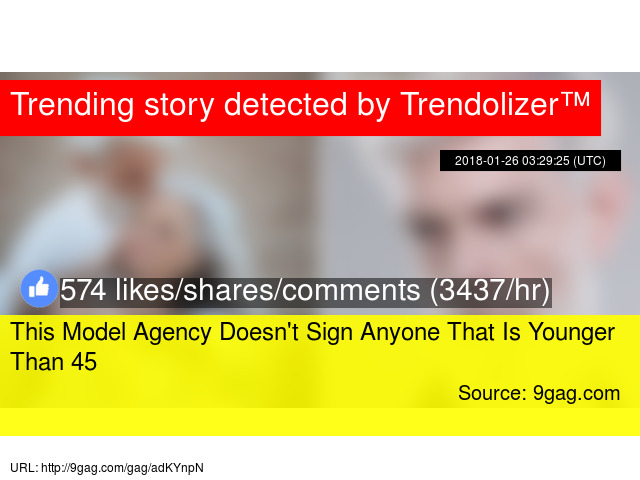 This Model Agency Doesn't Sign Anyone That Is Younger Than 45