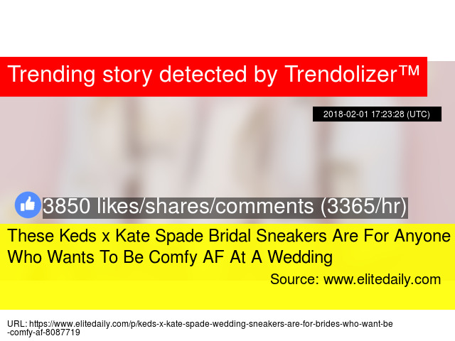 80b99b756bff These Keds x Kate Spade Bridal Sneakers Are For Anyone Who Wants To Be  Comfy AF At A Wedding