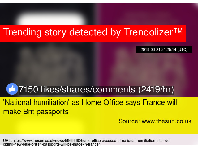 'National humiliation' as Home Office says France will ...