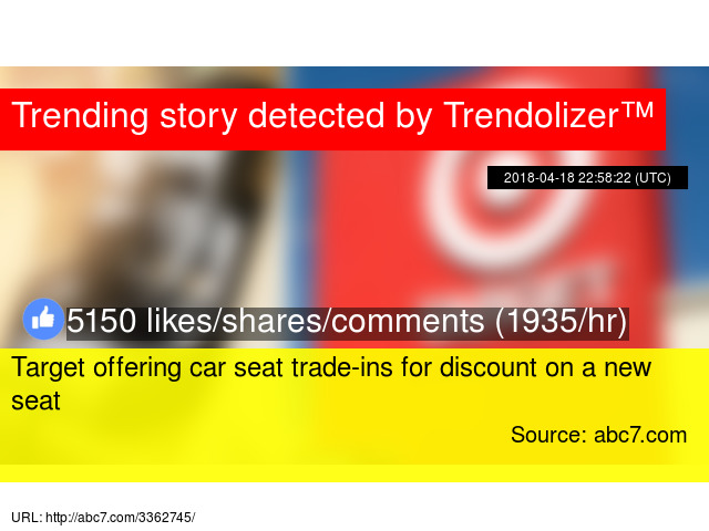 Target Offering Car Seat Trade Ins For Discount On A New