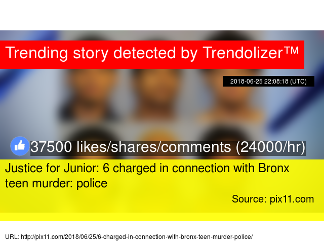 dd19bb5f3630 Justice for Junior  6 charged in connection with Bronx teen murder  police