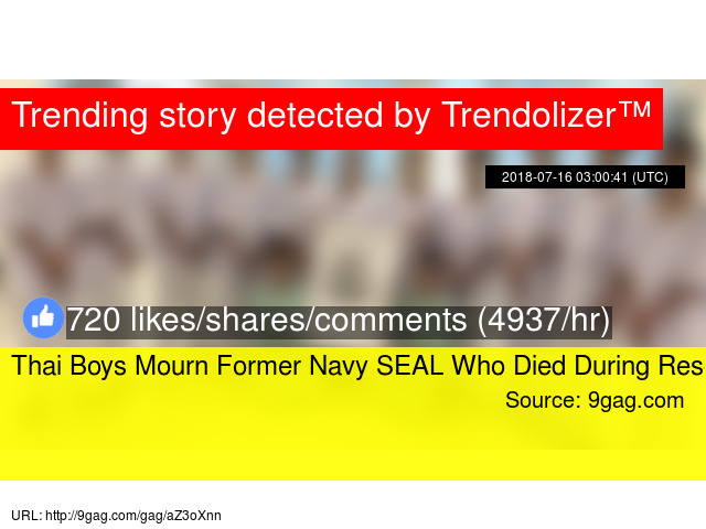 Thai Boys Mourn Former Navy SEAL Who Died During Rescue