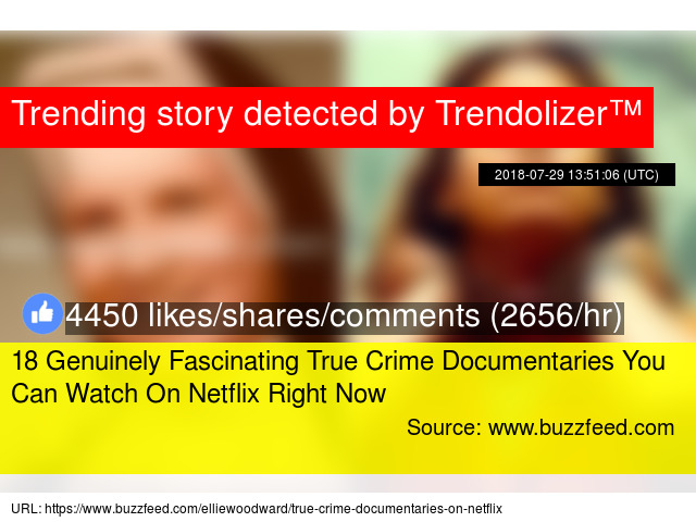 18 Genuinely Fascinating True Crime Documentaries You Can Watch On